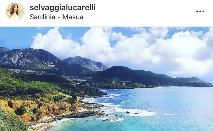 masua foto instagram selvaggia lucarelli