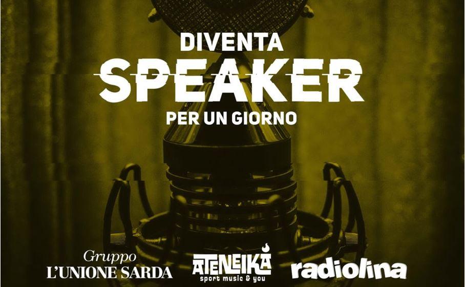 locandina speaker per un giorno