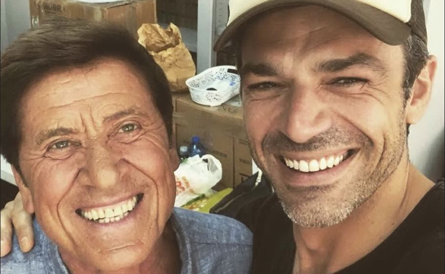 luca argentero e gianni morandi a carloforte instagram