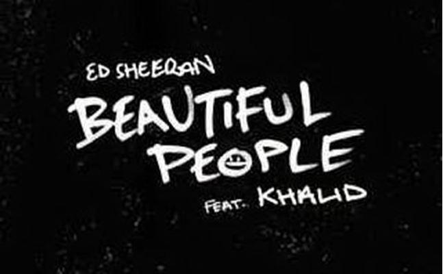 ed sheeran beautiful people (feat khalid)