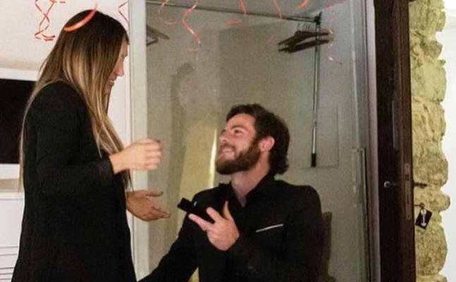 la proposta di matrimonio (instagram)